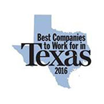 Texas Monthly Magazine Best company to Work in 2016