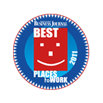 Houston Business Journal Best Places to Work in 2011