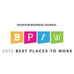 Houston Business Journal's Best Places to Work in 2015
